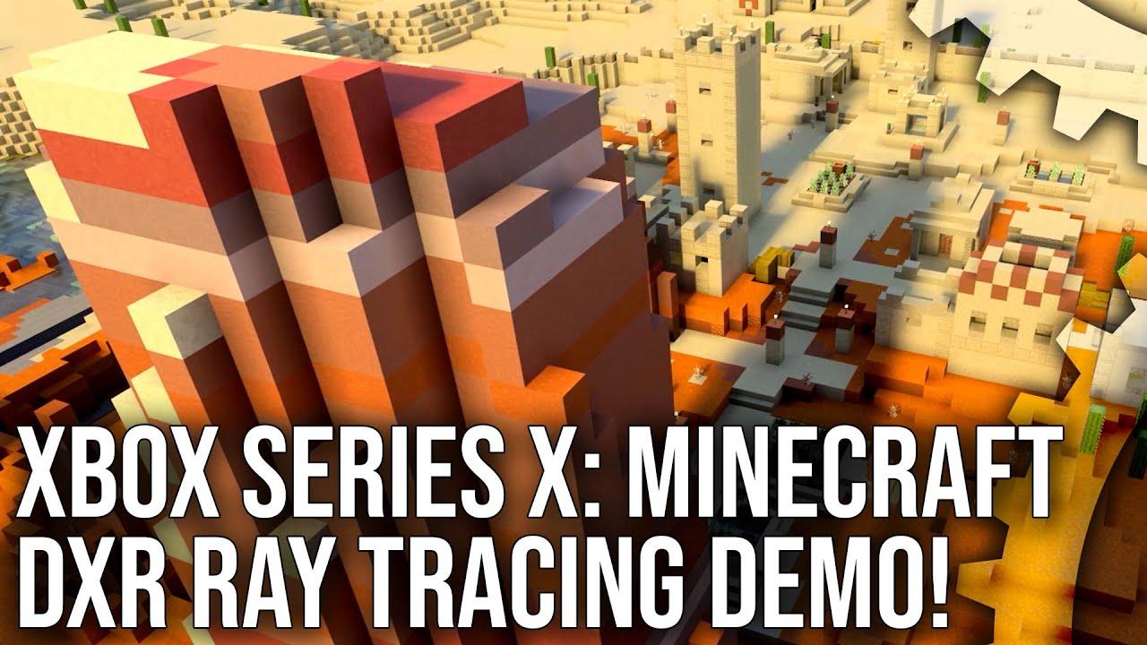 Minecraft DXR on Xbox Series X: Next-Gen Ray Tracing Analysis!