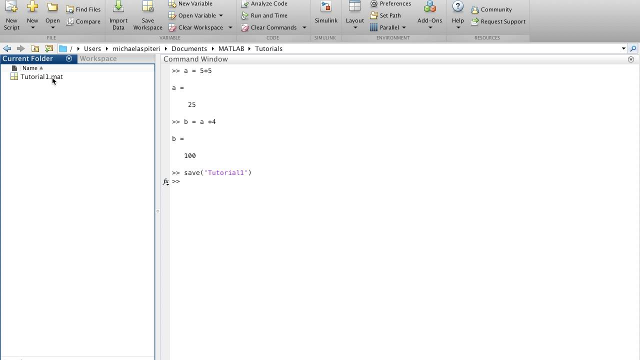 how to open command window in matlab