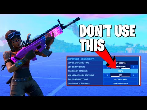 SECRET STRENGTHS OF THE NEW FORTNITE AIM ASSIST (But It's Still Terrible)