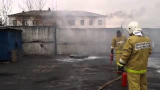 видео огнетушитель оп 4