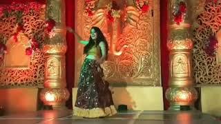Marriage dance on chunari