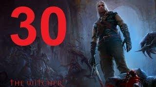 The Witcher Прохождение Серия 30 (Встреча в канализации)