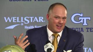 Coach Geoff Collins Introductory Press Conference