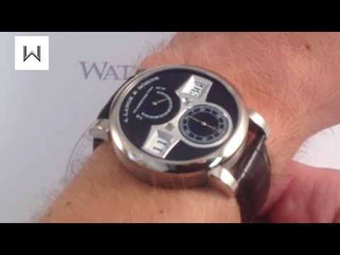 A. Lange & Sohne Zeitwerk Luxury Watch Review