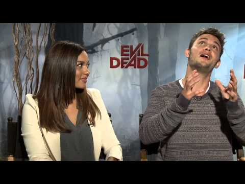 Evil Dead's Jessica Lucas and Shiloh Fernandez - Interview