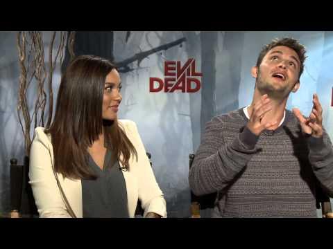 Evil Dead's Jessica Lucas and Shiloh Fernandez