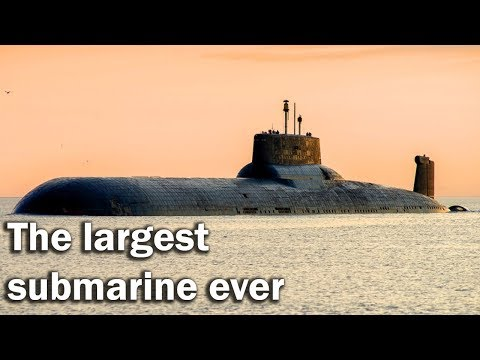 Typhoon - the largest submarine ever