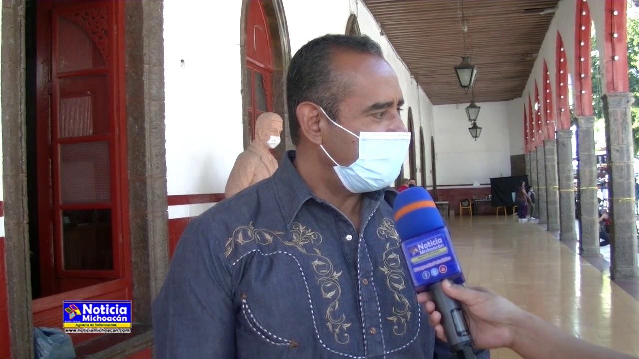 Ayuntamiento de Purépero continúa apoyando a personas vulnerables del municipio