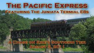 The Pacific Express: PRR E8s on Erie
