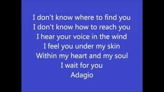 Lara Fabian - Adagio (english version with lyrics)