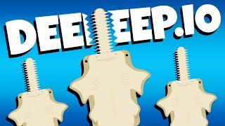 Download lagu Crazy New Saw Fish Deeeep io Gameplay MP3