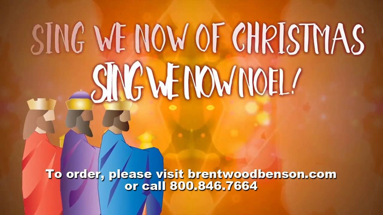 Sing We Now of Christmas (Lyric Video) | Jesus Means Christmas to Me ...