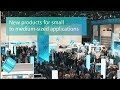 Siemens - Product news for small up to medium-sized applications
