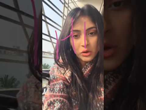 Mehazabien Chowdhury was live Trying out the filters !!!