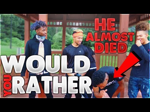 EXTREME Would You Rather Challenge?! ft. Tony1Savage, Dabb.gasmz, Money.maar, fam0us.jerry (Dirty)