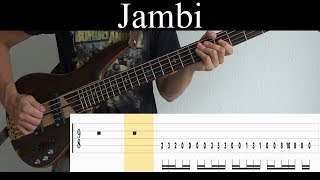 Jambi (Tool) - Bass Cover (With Tabs) by Leo Düzey