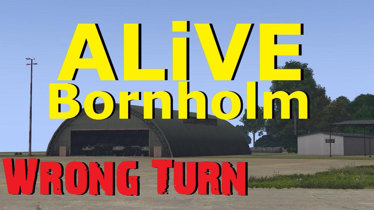 ARMA 3 ALiVE (TrackIR) - Bornholm - Wrong Turn - YouTube