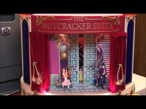 Mr Christmas the Nutcracker series music box musicbox demonstration