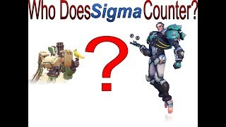 Sigma VS. Every Damage Hero in Overwatch. Who Does Sigma Counter?
