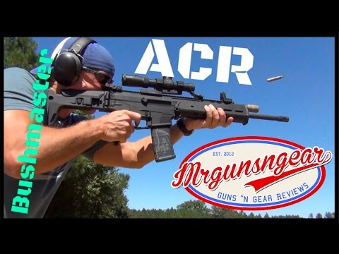 Bushmaster Adaptive Combat Rifle (ACR) 5.56 Rifle Review (HD)