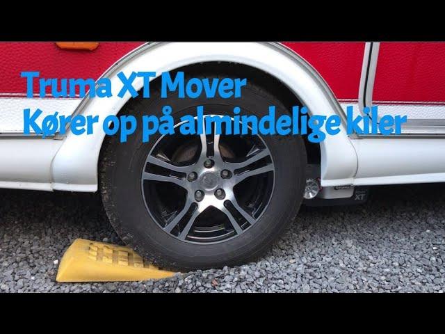 Truma XT Mover - Kører op på almindelige kiler.