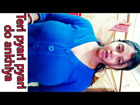 Teri pyari pyari do ankhiya best tik tok videos | Vigo video