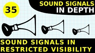 Rule 35: Sound Signals In Restricted Visibility | Sound Signals In Depth