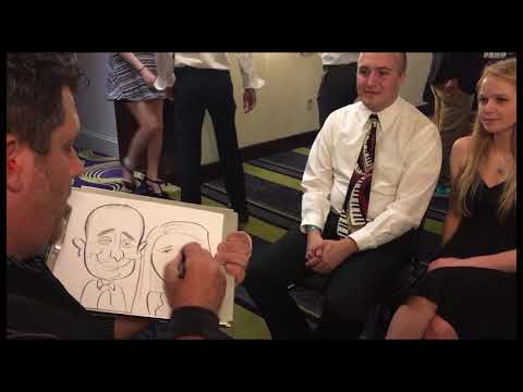 Adam Pate: The fastest caricature artist in the world! (Ohio)