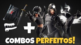 BEST Skins COMBOS of the new DARK LEGENDS PACK-Fortnite backpacks/sombre combinations