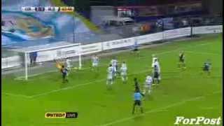 Севастополь - Металлург Донецк 4-2. голы сезон 2013/14