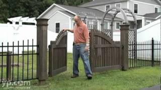 East Hampton Wooden Fencing Arrow Fence