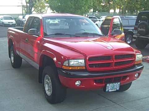 1999 Dodge Dakota Sport Plus 5.2L 4x4 Stock #PK5388a