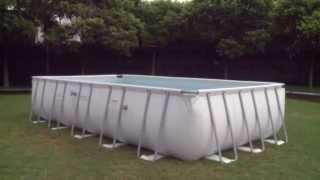 Каркасный прямоугольный бассейн (549х274х122)