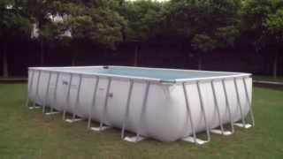 Каркасный прямоугольный бассейн Bestway (671х366х132)
