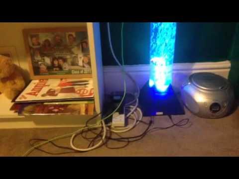 Bubble Lamp From Argos YouTube - Argos bedroom lights