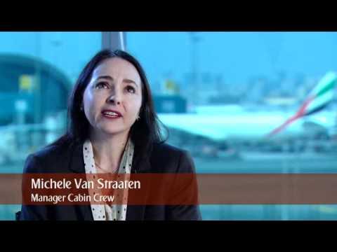 Michele Van Straaten - Manager Cabin Crew | Cabin Crew | Emirates Airline