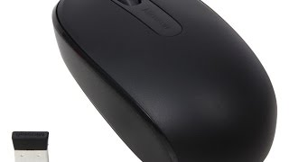 Microsoft wireless 1850 mouse unboxing