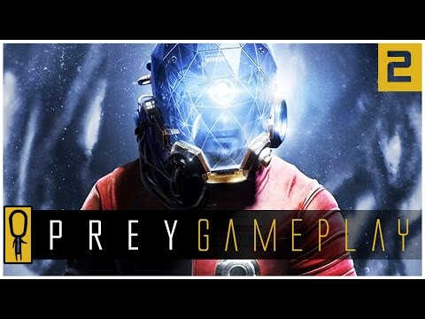Let's Play PREY Gameplay Part 2 - The Evacuation? - Walkthrough