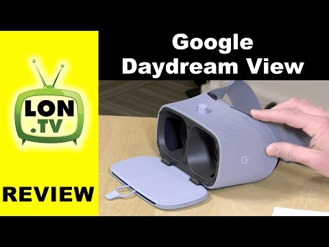 Google Daydream View new second generation   VR System for High End Android Phones