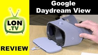 Google Daydream View (new second generation) Review - VR System for High End Android Phones
