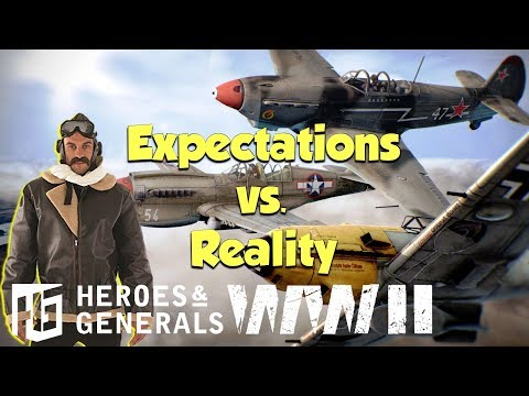 Fighter Pilot ► Expectations Vs. Reality | Heroes And Generals