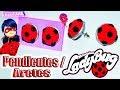♥ Tutorial: Pendientes/Aretes de Ladybug || Miraculous Ladybug ♥