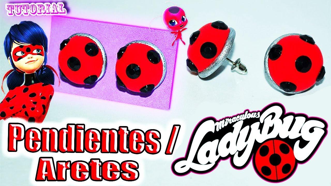 Tutorial Pendientes/Aretes de Ladybug