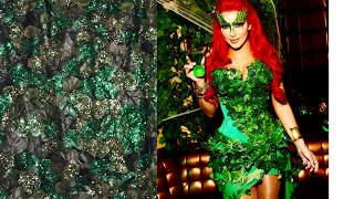 poison ivy diy halloween tutorial the corset