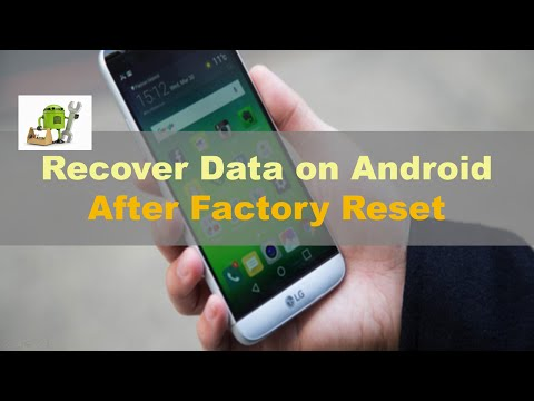 How To Recover Lost Data After Factory Reset Android Even Without Backup?