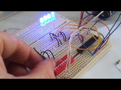 Dip switch operated LEDs, Angus McLaren, Swinburne TAFE, Luke Alao