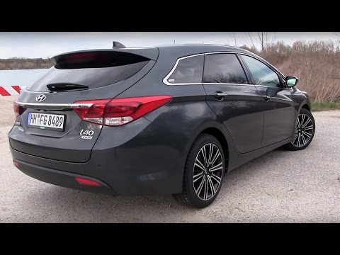 2016 Hyundai i40 1.7 CRDi 141 HP Test Drive by TEST DRIVE FREAK