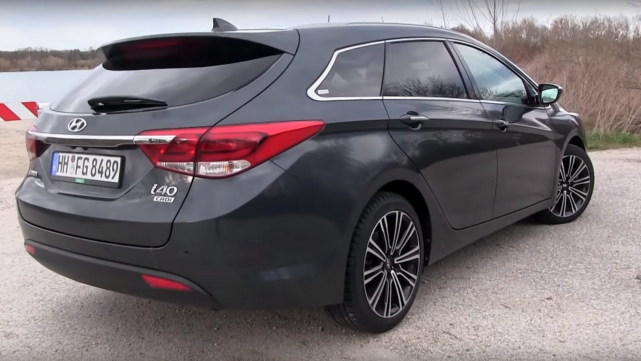 2016 hyundai i40 1 7 crdi 141 hp test drive by test drive freak youtube. Black Bedroom Furniture Sets. Home Design Ideas