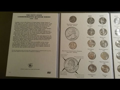 Littleton LCF3 1999 2008 Fifty State Commemorative Quarters