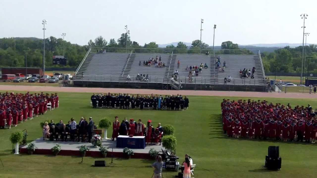Presenting The Graduating Class Of Woodland High School 2011